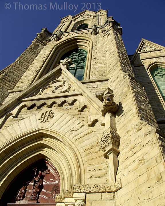 The Historic St. Patrick Church of Toledo with its Amhurst blue sandstone exterior was dedicated in April of 1901.